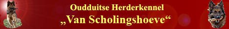 oudduitse herder kennel Van Scholingshoeve